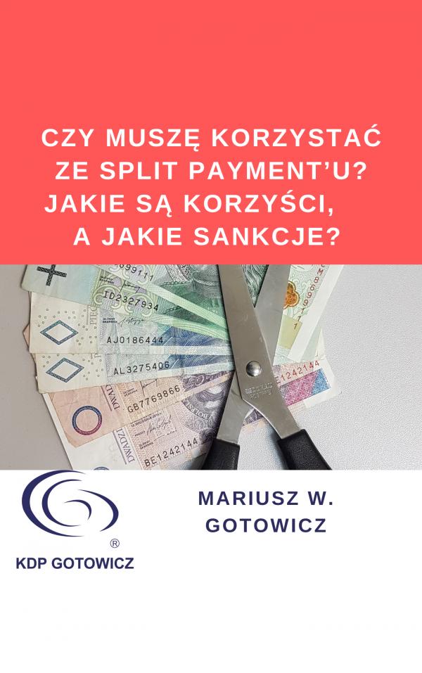 artykuł o split payment